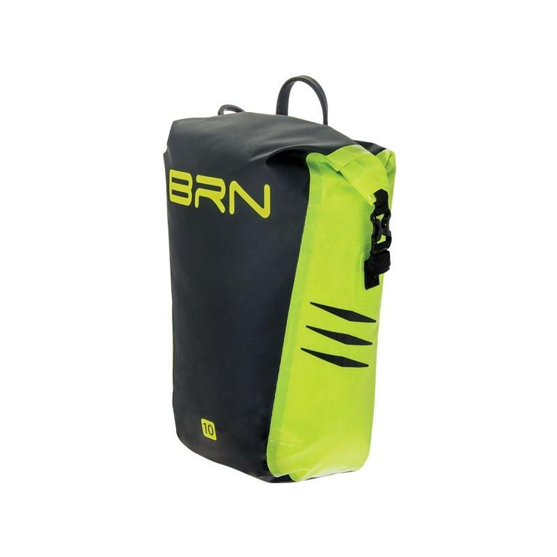 BRN Gepäcktasche vorne hinten 10 Liter neon gelb wasserfest Kilimangiaro