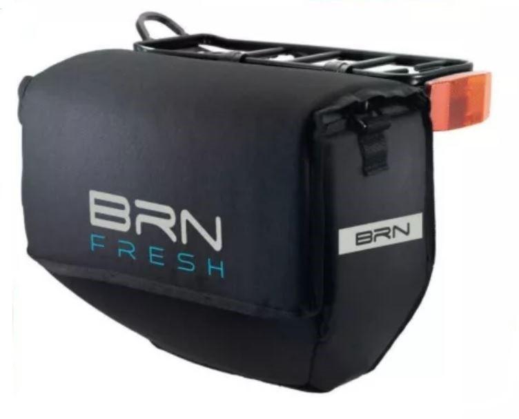 BRN Fresh Fahrradthermotasche Gepäcktasche Getränketasche Kühltasche 12L