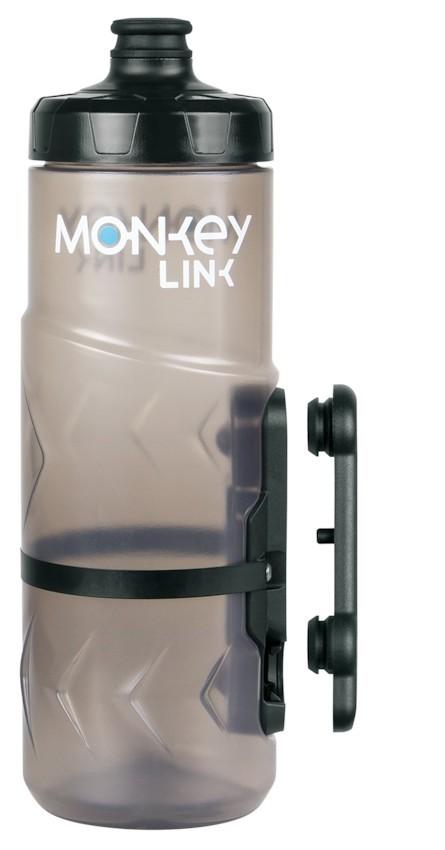 ML MonkeyLink Bottle small Flasche Halterung 600 ml Bottle & Bikemount komplett