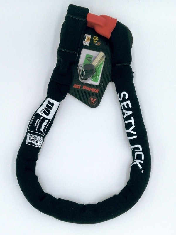 Seatylock Viking Chain Lock 110cm Kettenschloss extrem stabil neopren