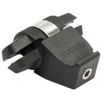 Rixen&Kaul Klickfix Contour Satteladapter Taschenadapter für Sattelgestänge 6-7mm