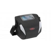 Norco Monitoba Lenkertasche Smartphonefach schwarz Schultergurt 8,5 Liter