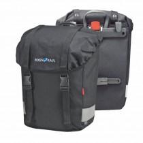 Rixen&Kaul Klickfix Classic Lowrider schwarz Gepäckträgertasche Seitentasche