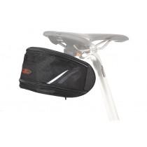 Norco Kansas Expandable Satteltasche Maxi schwarz inkl. Klickfix Satteladapter