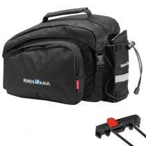 Klickfix Rackpack 1 Racktime schwarz Gepäckträgertasche 10L viel Stauraum