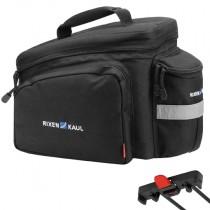 Klickfix Rackpack 2 Racktime schwarz Gepäckträgertasche 10L viel Stauraum