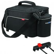 Rixen&Kaul Klickfix Rackpack Light Racktime schwarz Gepäcktasche 8 L