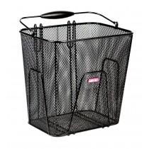 Unix Ruggero Hinterradkorb zum einhängen Einkaufskorb schwarz 23 Liter