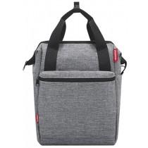 Rixen&Kaul Klickfix Roomy GT Gepäckträgertasche Seitentasche grau 7kg
