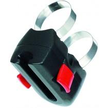 Rixen&Kaul Klickfix Rahmenadapter Bügelschlosshalterung bis 12mm Ø