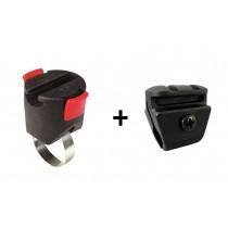 Rixen&Kaul Klickfix Miniadapter Seilschlosshalter Spiralschlosshalter schnell einfach