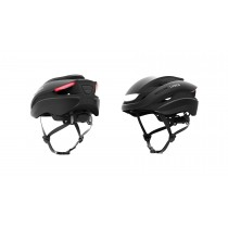 Lumos Ultra Fahrradhelm LED Helm Blinker hinten M/L 54-61cm charcoal black schwarz