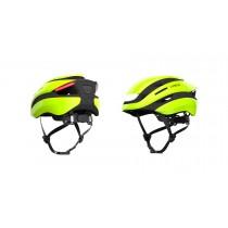 Lumos Ultra Fahrradhelm LED Helm Blinker hinten M/L 54-61cm electric lime grün