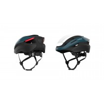 Lumos Ultra Fahrradhelm LED Helm Blinker hinten M/L 54-61cm deep blue blau