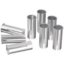 Ergotec Reduzierhülse Kalibrierhülse 27.2mm zu 31.4mm Aluminium Sattelstange
