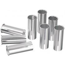 Ergotec Reduzierhülse Kalibrierhülse 27.2mm zu 28.6mm Aluminium Sattelstange