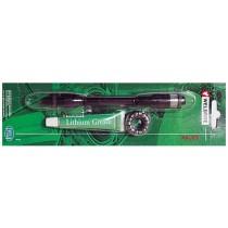 Weldtite HR Hohlachse für Schnellspanner M10 x 145mm inkl. Kugelringe Konen