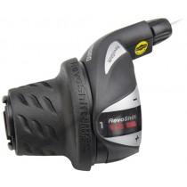 Drehgriff Schalter SHIMANO Tourney RS36 SIS links 3 Gänge inkl. Zug RSLRS36LSBP