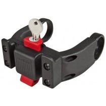 Klickfix Lenkeradapter E mit Schloss Adapter 22-31.8mm für mittige Displays