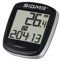 Sigma Fahrradcomputer BC 500 5 Funktionen schwarz-silber baseline
