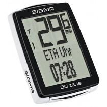 Sigma Fahrradcomputer BC 16.16 NFC kabelgebunden viele Funktionen