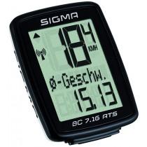 Sigma Fahrradcomputer BC 7.16 ATS kabellos Grundfunktionen
