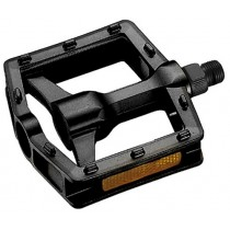 Union Pedal BMX stabile Trittfläche mit Zapfen schwarz Aluminium