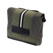 Lenkertasche Tragetasche Fahrrad Umhängetasche Gepäcktasche 8,5 L grün schwarz