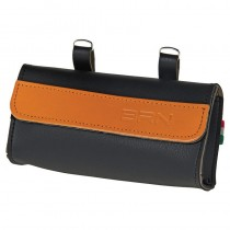 Satteltasche Fahrradtasche Werkzeugtasche Retrotasche schwarz braun BRN