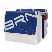 Gepäckträgertasche Fahrradtasche wasserfest LKW Plane stabil 22 L blau