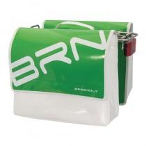 Gepäckträgertasche Fahrradtasche wasserfest LKW Plane stabil 22 L grün
