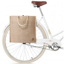 myBoo BikeZac Jutebeutel Fahrradbeutel Gepäckträgerbeutel Einkaufsbeutel