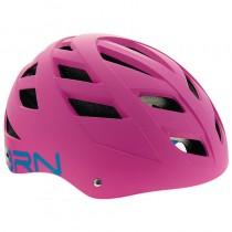 Fahrradhelm Kinderhelm Erwachsenenhelm Universal urban 51 - 56 cm pink