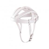 Vintage Helm Fahrradkappe weiß retro Nostalgie Radfahren Bedeckung