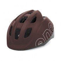 Bobike ONE S Kinderfahrradhelm Kinderhelm 52-56 cm coffee brown braun