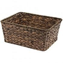 Fahrradkorb Basket Kiste Natur natürlicher Korb verstärkt braun eckig