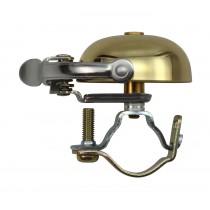 Crane Bell Co. Suzu Mini Klingel Glocke Retro gold messing Steel Band Mount