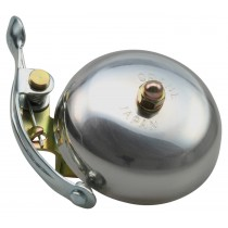 Crane Bell Co. Suzu Klingel Glocke Retro Design silber poliert silver polished