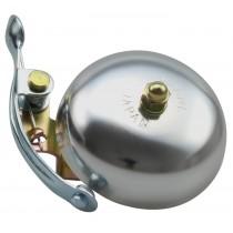 Crane Bell Co. Suzu Klingel Glocke Retro Design silber matt
