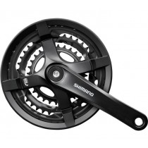 Shimano Tourney FCTY501 Kettenradgarnitur 28-38-48 Zähne 175mm Schutz Schraube