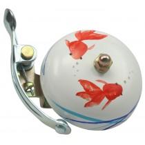 Crane Bell Co. Suzu Klingel Glocke Retro handpainted handbemalt - KOI