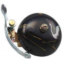 Crane Bell Co. Suzu Klingel Glocke Retro handpainted handbemalt - Tsuru