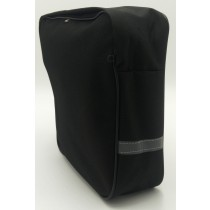 Gepäckträgertasche Fahrradtasche Einzel & Doppeltasche Tragegriff 15 Liter -  schwarz