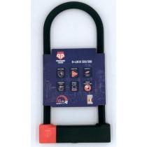 PentagonLocks D-Lock U Lock Bügelschloss sicher robust Typ 120/300 schwarz-rot