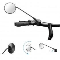Krampe KF1 TYP D 20° Winkel Fahrradspiegel Lenkerspiegel 360° drehbar rund
