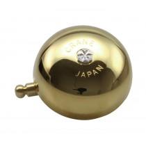 Crane Bell Co. Karen Klingel Glocke Retro gold messing Steel Band Mount