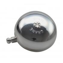 Crane Bell Co. Karen Klingel Glocke Retro silber poliert Steel Band Mount