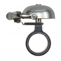 Crane Bell Co. Suzu Mini Klingel Glocke Retro silber matt Headset Spacer