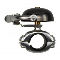 Crane Bell Co. Suzu Mini Klingel Glocke Retro neo-black schwarz Die Cast Mount