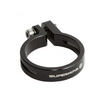 Supernova Seat Post Clamp 31.6mm schwarz Klemme für E3 Taillight Seatpost